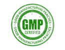 Green GMP Certified badge on transparent background | New Coastal