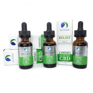 RELIEF Oral Tincture Nano-enhanced Full Spectrum CBD Oil