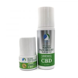 PAIN RELIEF Roll-on Gel – THC FREE Broad Spectrum