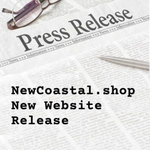 Press release illustration for NewCoastal.shop