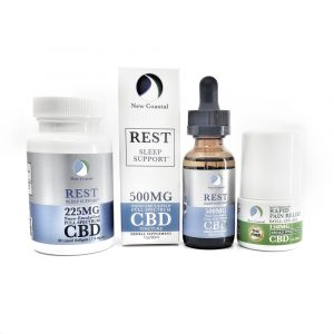 CBD Wellness Gift Rest for anxiety & depression | newcoastal.shop