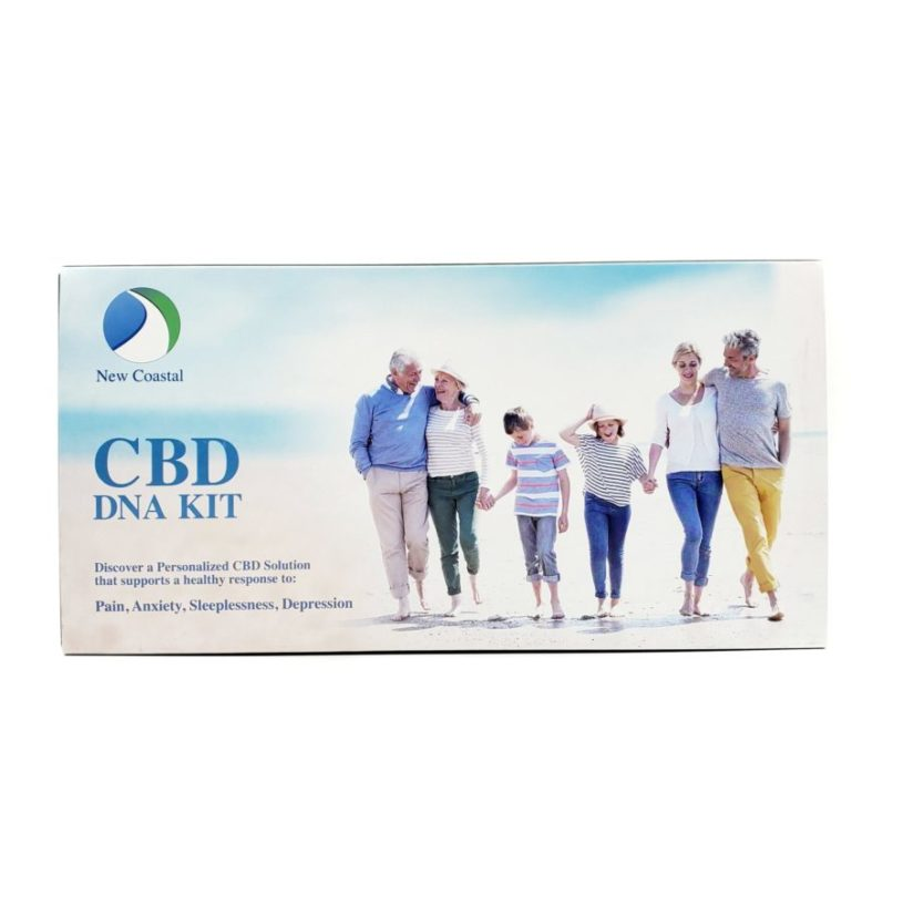 CBD DNA Test Kit box
