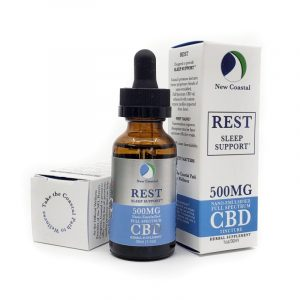 REST Oral Tincture – Nano-enhanced Full Spectrum CBD Oil – 500mg