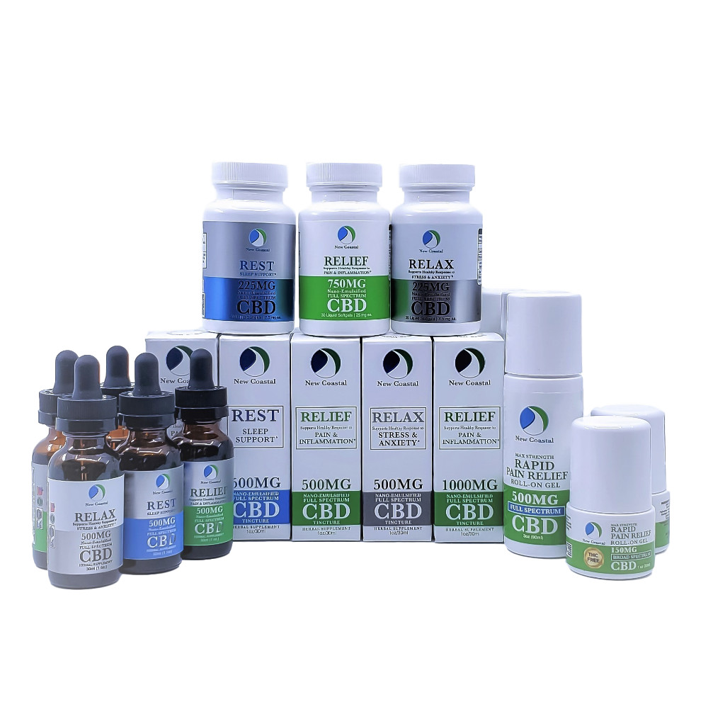 CBD Wellness products by New Coastal | newcoastal.shop