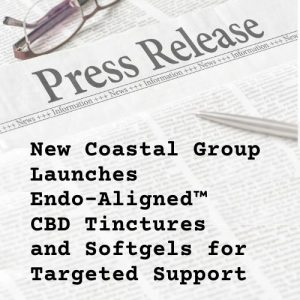 Press release illustration for Endo-Aligned CBD formulas | New Coastal
