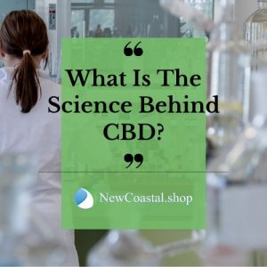 What is the science behind CBD graphic | New Coastal