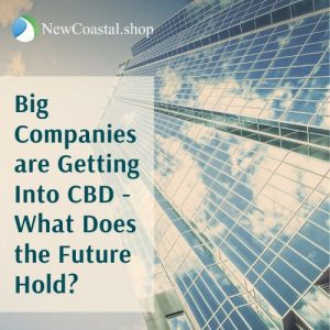 Illustration for how big companies are getting into CBD article | New Coastal